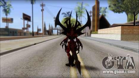 Diablo From Diablo III for GTA San Andreas second screenshot