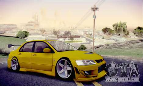 Mitsubishi Lancer Turkis Drift for GTA San Andreas