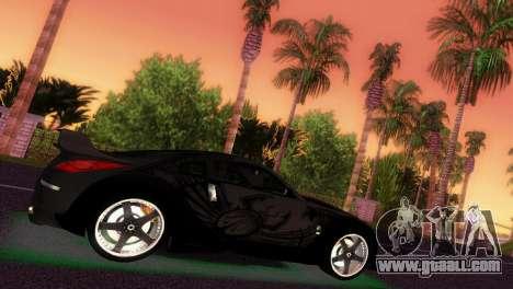 Nissan 350Z Veiside DK for GTA Vice City back left view