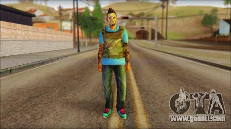 Skin Sicario GTA V By Cesar Hardy for GTA San Andreas