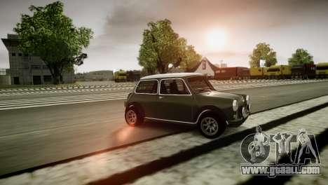 Mini Cooper RWD for GTA 4 back left view