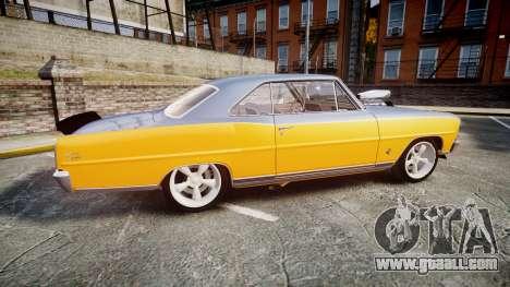 Chevrolet II Nova SS 1966 Custom [EPM] PJ1 for GTA 4 left view