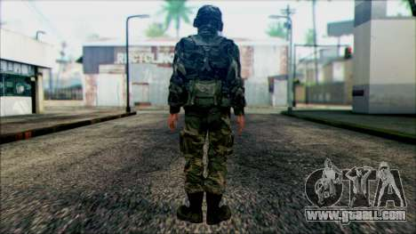 Soldiers of the National guard of the U.S. (WIC) for GTA San Andreas second screenshot