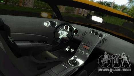 Nissan 350Z Veiside Chipatsu for GTA Vice City back view