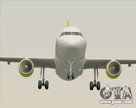 Airbus A320-200 Air Australia for GTA San Andreas back view