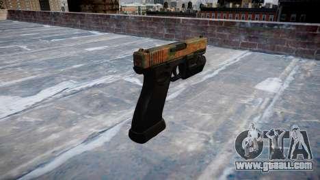Pistol Glock 20 jungle for GTA 4 second screenshot