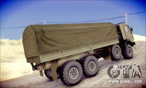 The KamAZ-6350 (APT) for GTA San Andreas right view