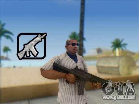 Israeli carbine ACE 21 for GTA San Andreas
