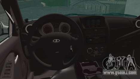 Lada Kalina 2 Wagon for GTA San Andreas back left view