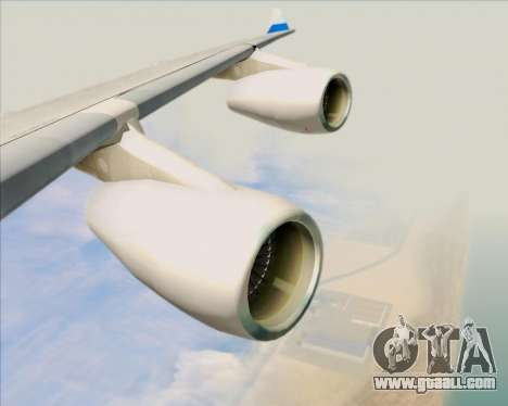 Airbus A340-313 China Airlines for GTA San Andreas wheels