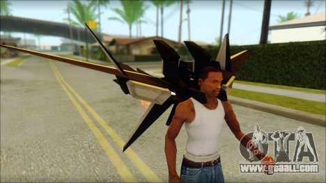 Machine Wing Jetpack for GTA San Andreas forth screenshot