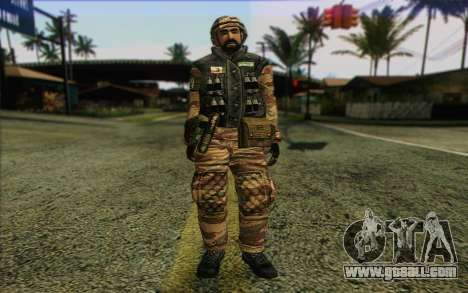 Soldiers MEK (Battlefield 2) Skin 6 for GTA San Andreas