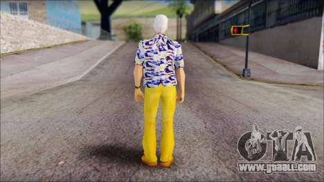 Doc from Back to the Future 1985 for GTA San Andreas second screenshot