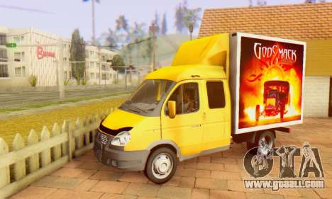 33023 GAZelle Godsmack - has 1000hp (2014) for GTA San Andreas