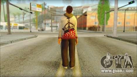 GTA 5 Ped 6 for GTA San Andreas second screenshot