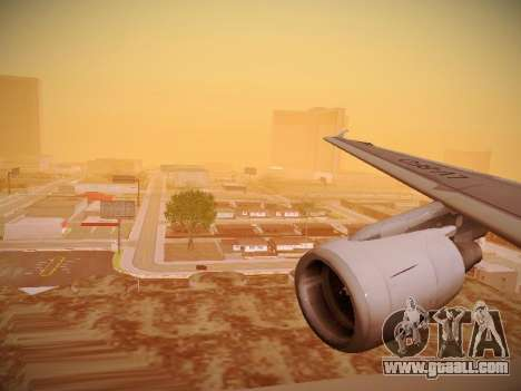 Airbus A320-214 LAN Oneworld for GTA San Andreas