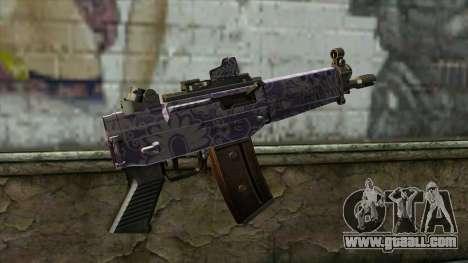 Graffiti MP5 for GTA San Andreas second screenshot