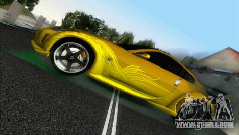 Nissan 350Z Veiside Chipatsu for GTA Vice City right view