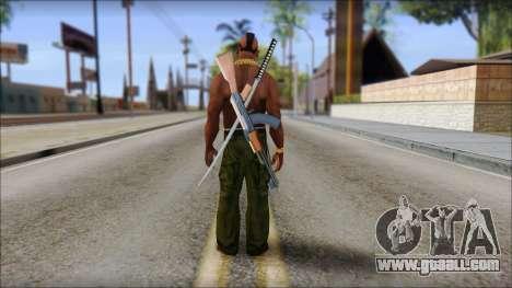 MR T Skin v9 for GTA San Andreas