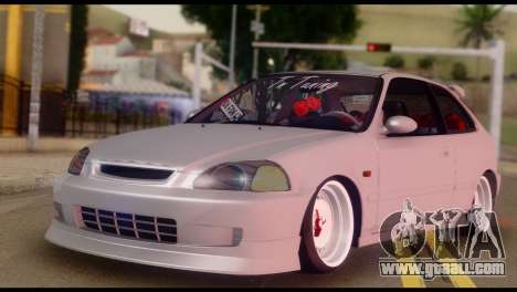 Honda Civic 1.4 Hatchback for GTA San Andreas