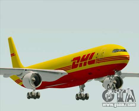 Airbus A330-300P2F DHL for GTA San Andreas