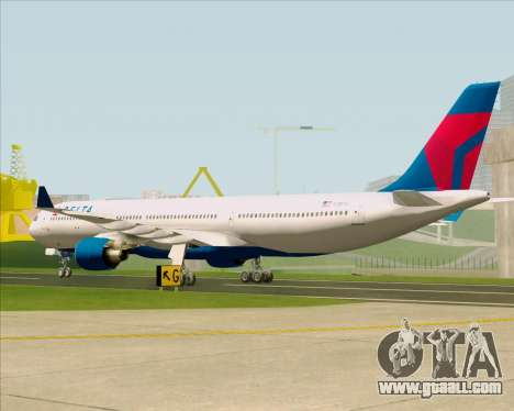 Airbus A330-300 Delta Airlines for GTA San Andreas right view
