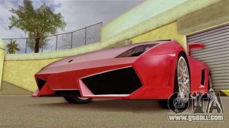 Lamborghini Gallardo LP 560-4 for GTA Vice City left view