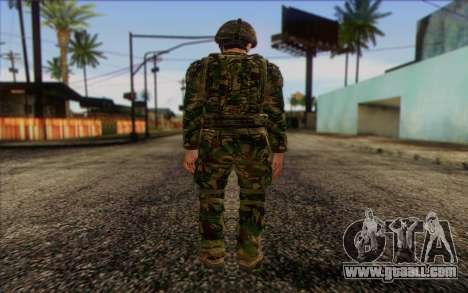 British soldiers (ArmA II: BAF) v1 for GTA San Andreas second screenshot