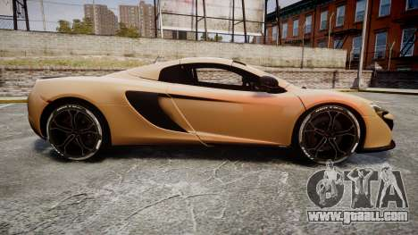 McLaren 650S Spider 2014 [EPM] Pirelli v2 for GTA 4 left view
