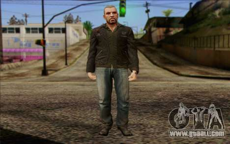 Johnny Klebitz From GTA 5 for GTA San Andreas