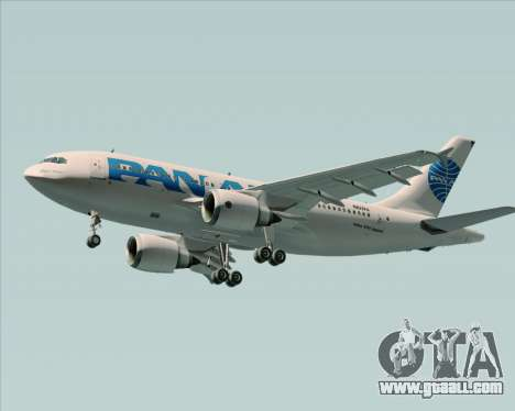 Airbus A310-324 Pan American World Airways for GTA San Andreas engine