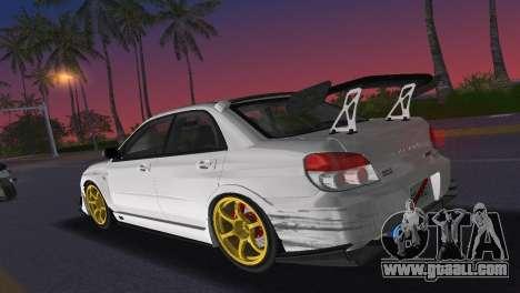 Subaru Impreza WRX STI 2006 Type 2 for GTA Vice City inner view