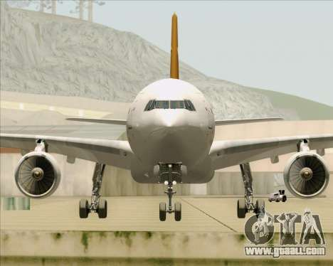 Airbus A330-300P2F UPS Airlines for GTA San Andreas upper view