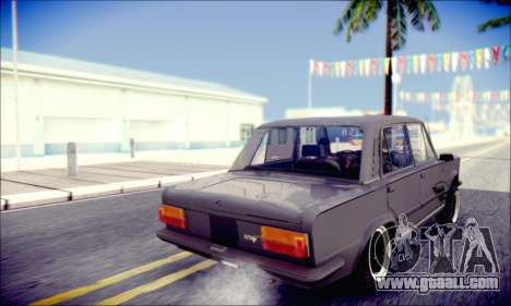 Fiat 125P Shark for GTA San Andreas inner view