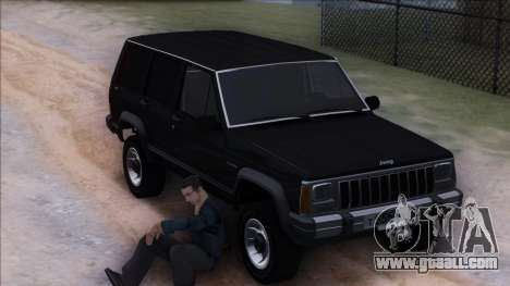 Jeep Cherokee for GTA San Andreas side view