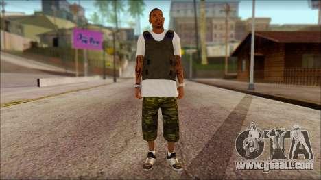 New Grove Street Family Skin v5 for GTA San Andreas
