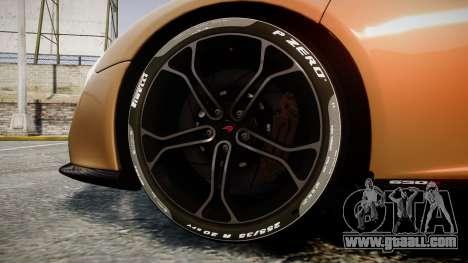 McLaren 650S Spider 2014 [EPM] Pirelli v2 for GTA 4 back view