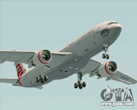 Airbus A330-200 Virgin Australia for GTA San Andreas side view