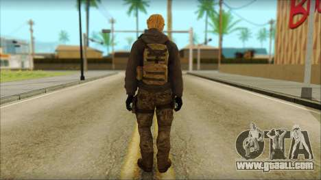 Alfred F. Jones for GTA San Andreas second screenshot