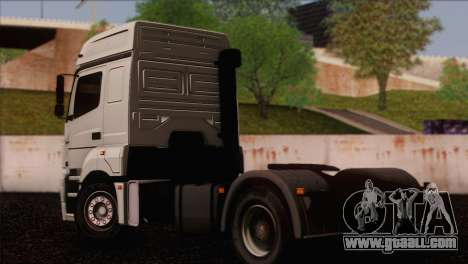 The KamAZ-5490 for GTA San Andreas left view