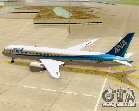 Boeing 787-9 All Nippon Airways for GTA San Andreas engine