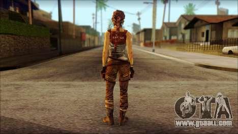 Tomb Raider Skin 7 2013 for GTA San Andreas second screenshot