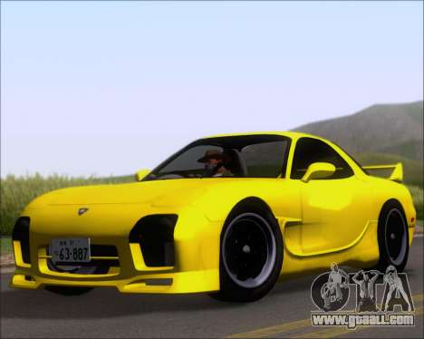 Mazda RX-7 FD3S A-Spec for GTA San Andreas left view