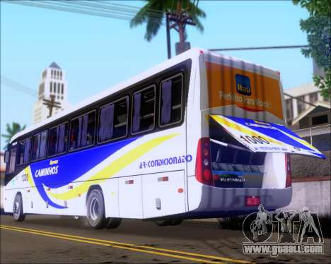 Marcopolo Ideale 770 - Volksbus 17-230 EOD for GTA San Andreas side view