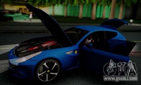 Ferrari FF 2012 for GTA San Andreas side view