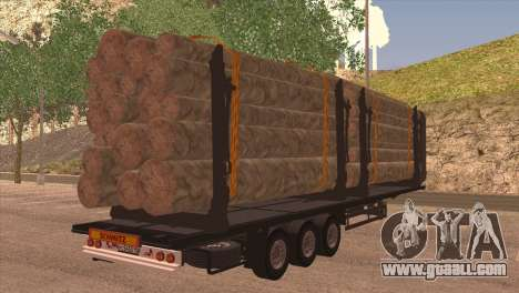 Smitz Timber for GTA San Andreas left view