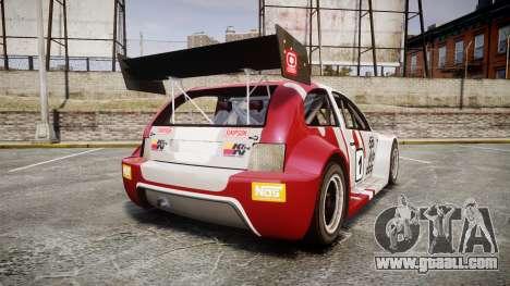 Zenden Cup Dalilfodda for GTA 4 back left view