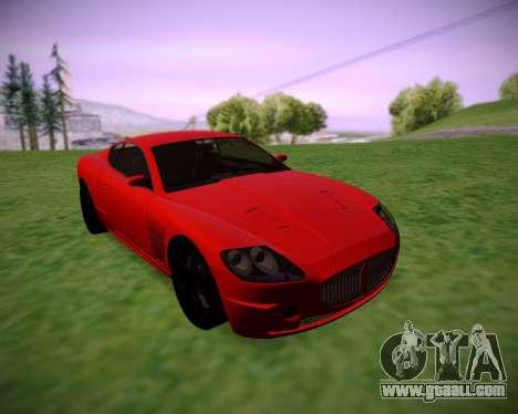 F620 from GTA V for GTA San Andreas