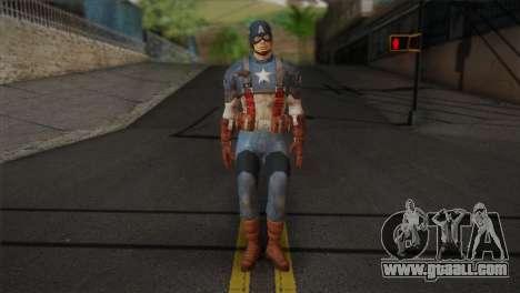 Captain America v1 for GTA San Andreas