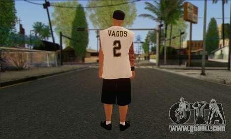 Vagos from GTA 5 Skin 1 for GTA San Andreas second screenshot